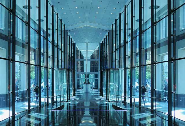podłogi szklane optiwhite