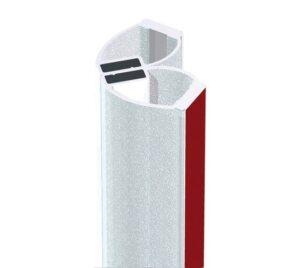 Uszczelka samoprzylepna magnetyczna do kabin prysznicowych 8-12 mm BK69250