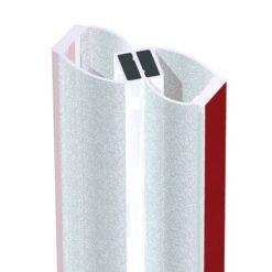 Uszczelka do kabin magnetyczna samoprzylepna szkło 4-12 mm
